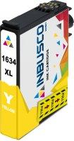 Tintenpatrone kompatibel zu Epson Drucker T1634 mit Chip