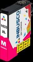 Tintenpatrone kompatibel zu Epson Drucker T1633 mit Chip