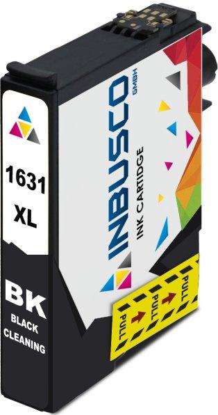 Reinigungspatrone kompatibel zu Epson Drucker T1631 BK (16XL)