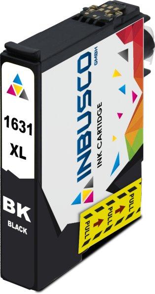 Tintenpatrone kompatibel zu Epson Drucker T1631 mit Chip