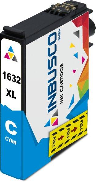 Tintenpatrone kompatibel zu Epson Drucker T1632 mit Chip