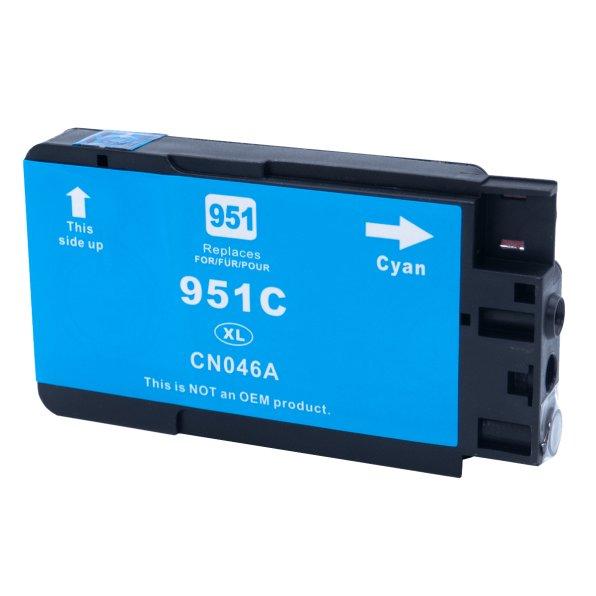 Tintenpatrone kompatibel zu HP Drucker 951 XL, blau