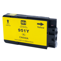 Tintenpatrone kompatibel zu HP Drucker 951 XL, gelb