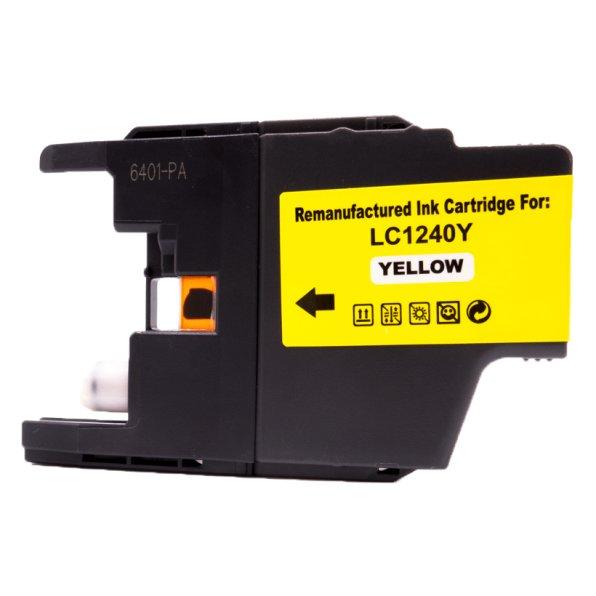 Brother Drucker Tintenpatrone für LC 1240 YE Gelb Yellow