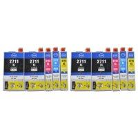 Patrone kompatibel zu Epson Drucker T2713XL für WF-362DWF/ 3640DTWF/ 7110DTW/ 7610DWF/ 7620DTWF *TOP