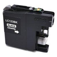 Brother Drucker Tintenpatrone für LC 123 BK schwarz,...
