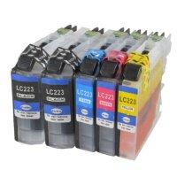 Brother Drucker Tintenpatrone für LC 223 BK (schwarz)