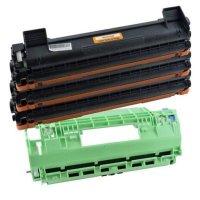 3 TONER + TROMMEL TN1050 DR1050 für BROTHER HL-1201 / DCP-1512 / DCP-181 INB 58