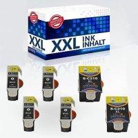 1 - 10 DruckerTintenpatronen IBC für Samsung CJX-1000 CJX-1050 CJX-2000 INK C-M210 1