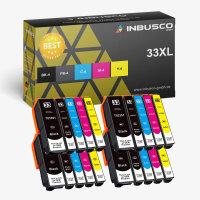 33 XL VAR Expression XP-640 20x 33 XL Set kompatibel zu (3351-3364)