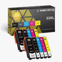33 XL VAR Expression XP-900 10x 33 XL Set kompatibel zu (3351-3364)