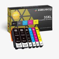 33 XL VAR Expression XP-7100 6x 33 XL Set kompatibel zu (2x3351-3364)