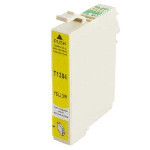 Tintenpatrone kompatibel zu Epson Drucker 1304 YE