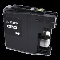 Brother Drucker Tintenpatrone für LC 123 BK schwarz