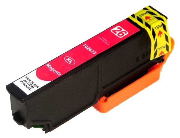 Patrone kompatibel zu Epson Drucker T2633 MG