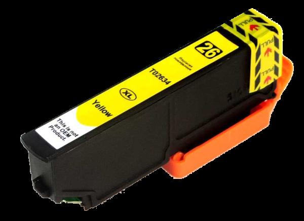 Tintenpatrone komp. Epson T2634 YE